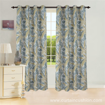 Polyester Window Jacquard Panel Curtain
