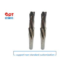 Customized carbide tipped step reamers titanium