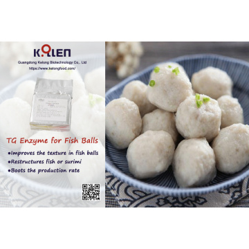 Food additive in fish ball