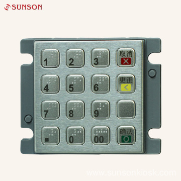Diebold Encryption PIN pad for Payment Kiosk