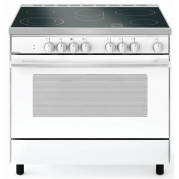 White Electric Grill Oven 900mm