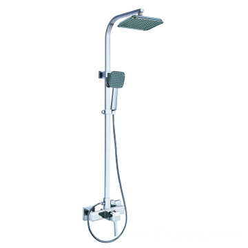 Brass Shower Mixer Rainfall BIg Head Shower Set