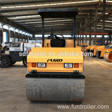 3 Ton Single Drum Small Vibratory Soil Compactor Roller 3 Ton Single Drum Small Vibratory Soil Compactor Roller  FYL-D203