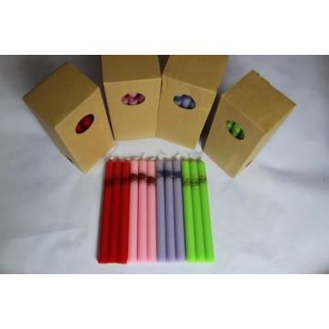 color stick candle Christmas Candle