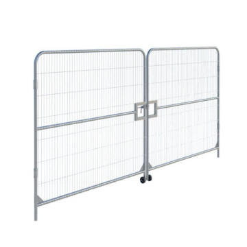 Hot dip galvanized event residential safety temporary construction fence