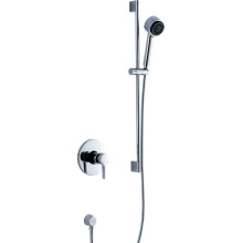 Bathroom Chrome Concealed Wall Mounted Shower