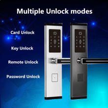 Password and Card Hotel Lock