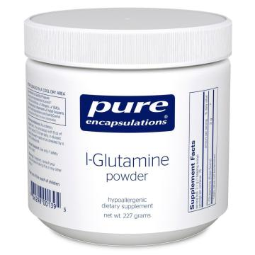 l-glutamine and msg sensitivity