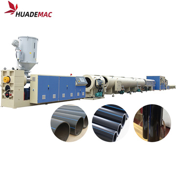 HDPE sewer pipe making machine