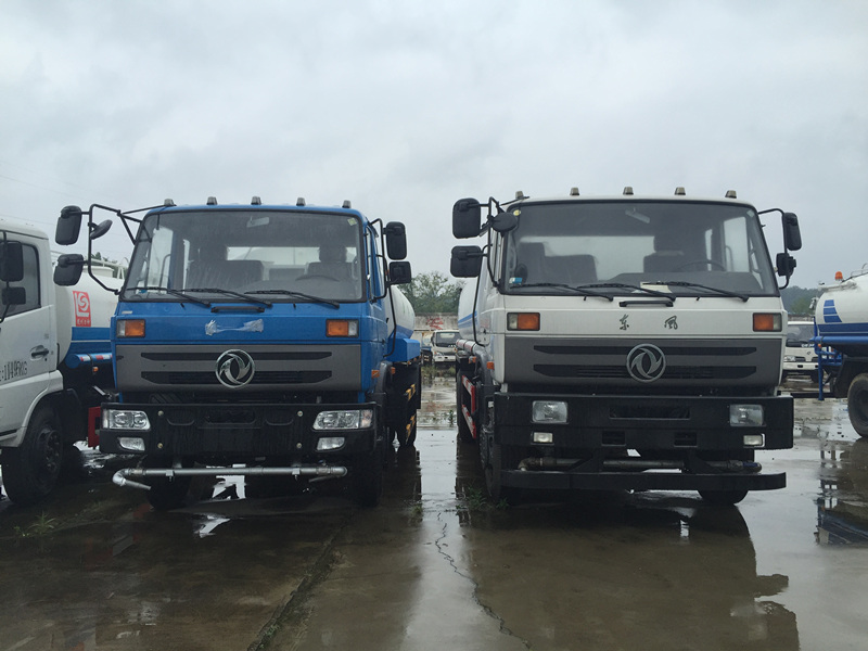6X4 Dongfeng 15000 Sprinkler Water Tank Truck