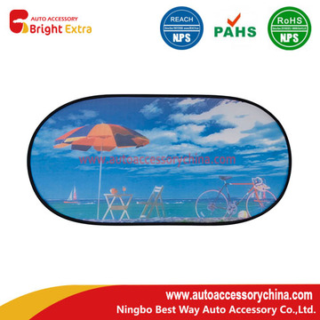 Custom Logo Car Rear Window Sun Shade