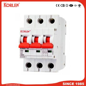 10KA Capacity MCB L7 Series with Sirim IEC/En60898