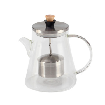 Heat Resistant Glass Tea Pot for Loose Tea