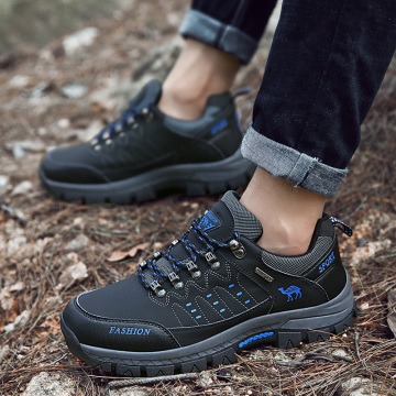 2020 New Outdoor Men Winter Hiking Shoes Autumn Climbing Sneakers Non-slip Durable Trekking Travel Shoes Large Size 45