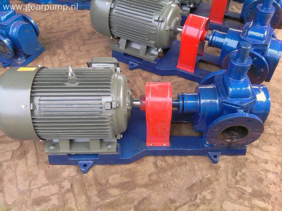 Electric lubrication circular oil transfer gear pump