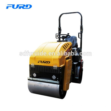 1 ton Small Road Roller With Vibratory Double Drum Fyl-880