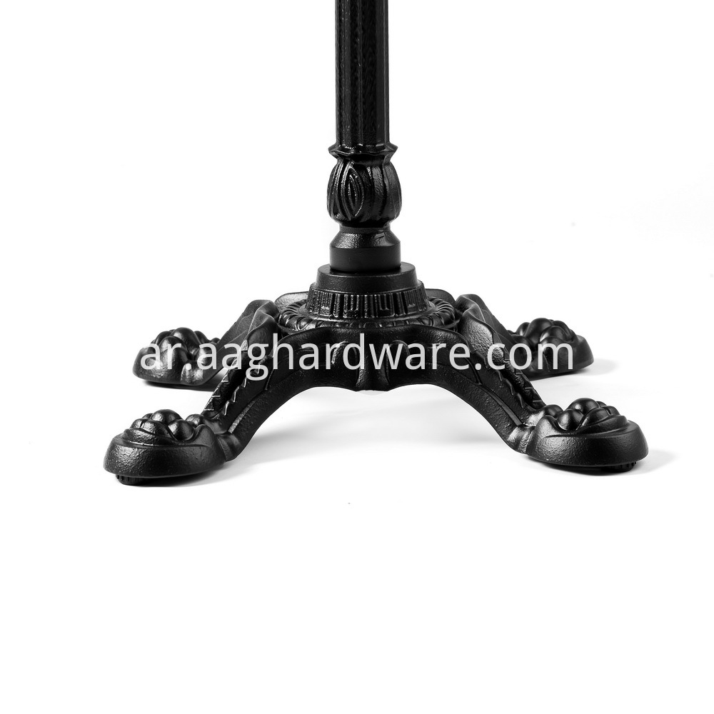 Metal Pedestal Table Base