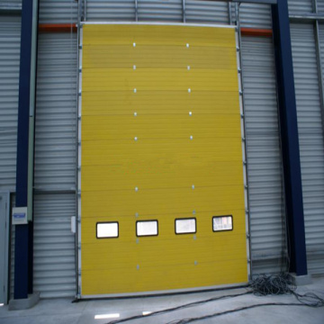 Industrial Standard Lifting Overhead Sectional Garage Door