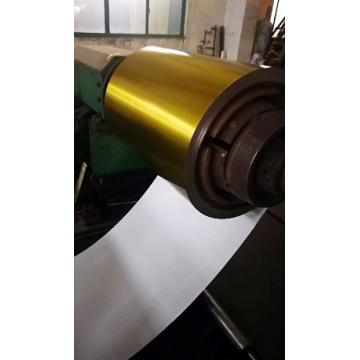 Golden Laminated Tinplate Coils