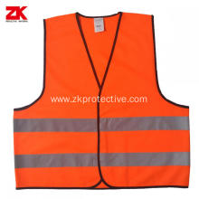 best quality yellow kids construction safety vest child