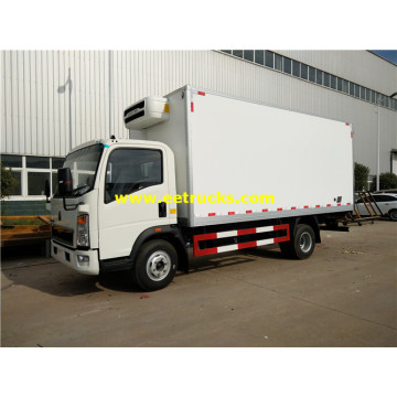 HOWO 4x2 Refrigerated Box Trucks