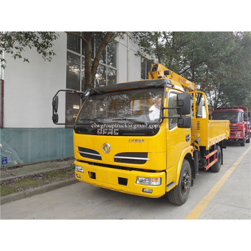 Dongfeng 5tons straight arm Truck mounted crane