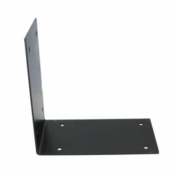 High Quality Black Metal Mail Box Wall Mount Bracket