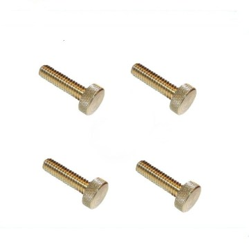 Custom Brass Knurled Thumb Screw