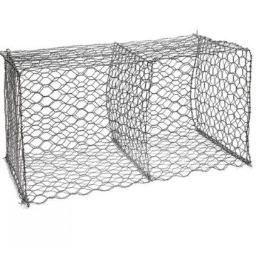 Gabion box wire fencing stone cage wall