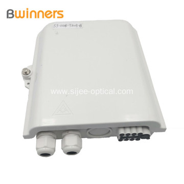 Outdoor Waterproof 8 Way Fiber Splitter Distribution Box