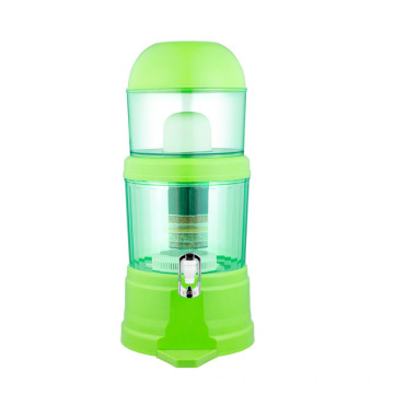 14L Green Mineral water pot