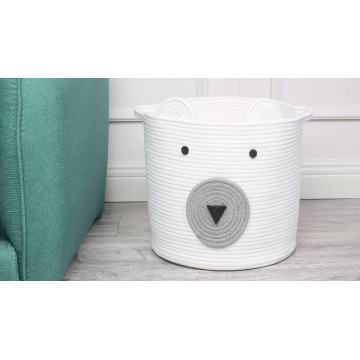 Cute Bear Decorative Functional Clothes Storage Baskets