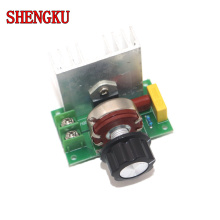 Voltage regulator AC 220V 4000W SCR Power regulator Dimming Dimmers Motor Speed Controller Thermostat Electronic Module