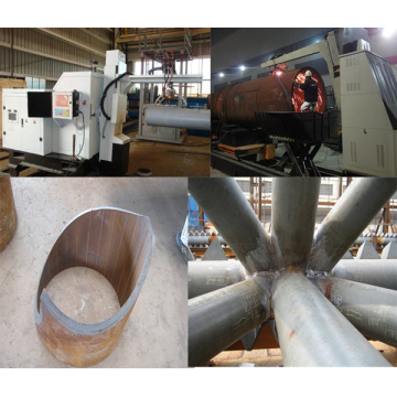 Pipe Intersecting Line Cutting Robot