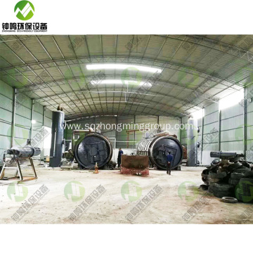 Pyrolysis Tyre to Oil Machine Price