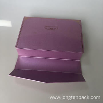 gift box with purple for cream products