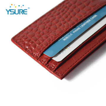 Custom Design Unique Slim Card Holder