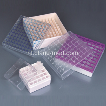 Cryovial Storage Boxes voor 1ml en 2ml Tubes