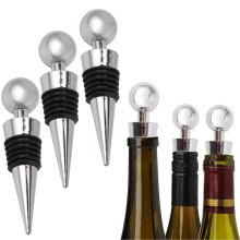 New Bottle Stopper Wine Storage Twist Cap Plug Reusable Vacuum Sealed Bottle Cap Champagne Stopper Wine Gifts Bar Tools