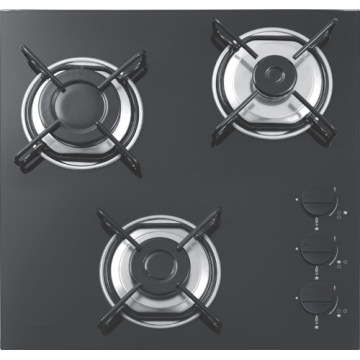 Natural Gas 3 Burner Stove