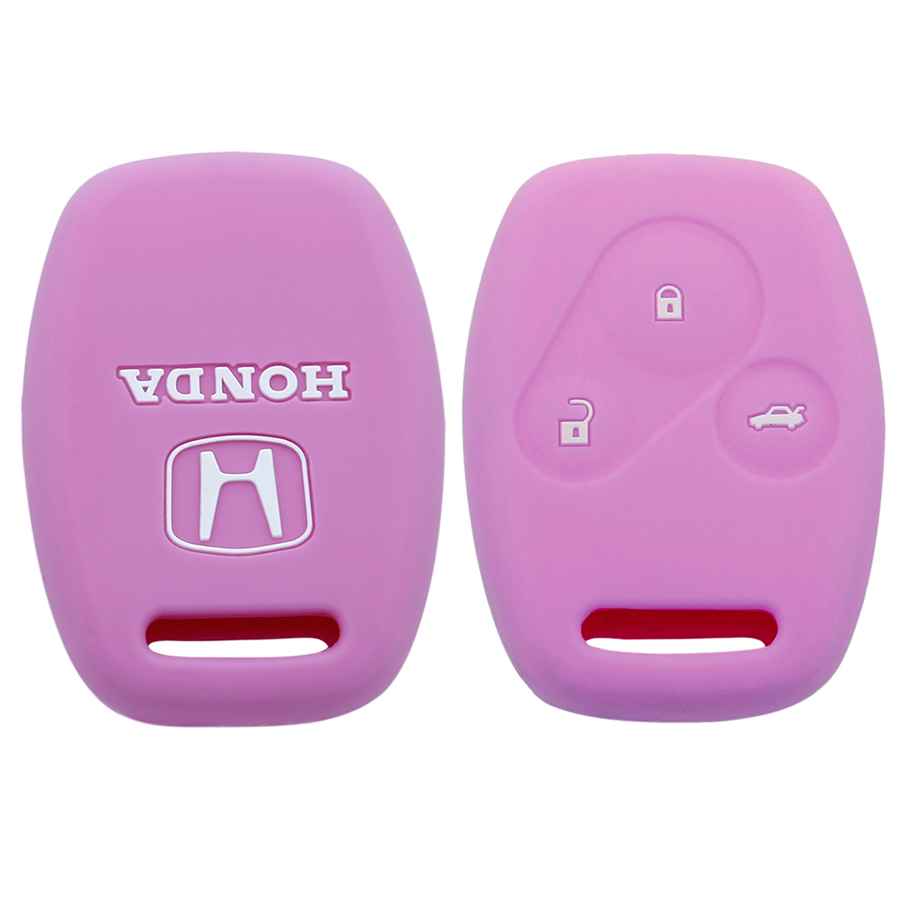 Silicone Honda Logo Car Key Cover