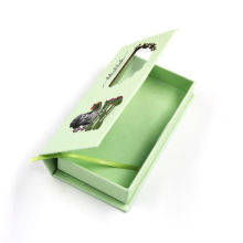 OEM Eyelash Paper Packaging Boxes with Clear Window
