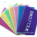Factory Directly anti-slip pvc material mat coil rugs