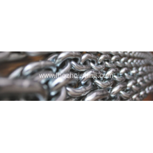 G80 alloy steel black  lifting chain