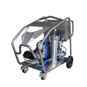 High Pressure washer 800bar for vessel cleaning