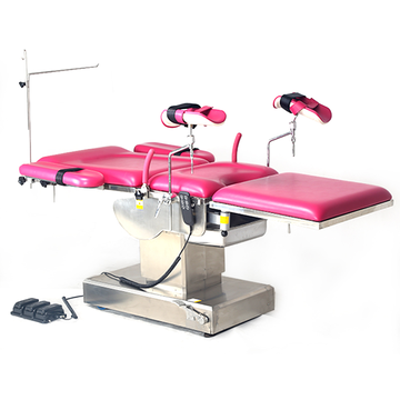 Advanced operating table for delivering