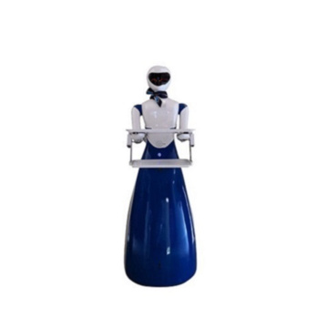 Artificial ABS Plastic Waitress Robot
