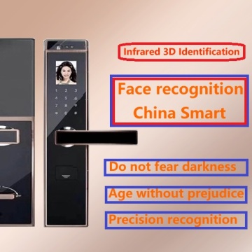 Face recognition intelligent lock