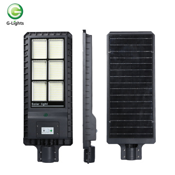 CE Rohs approved ip65 outdoor led solar streetlight