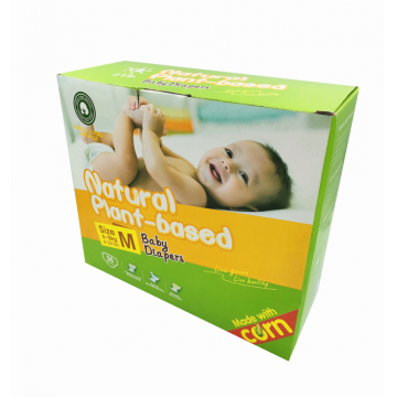 Safe Plant-based Eco-Friendly Corn fiber Baby Diapers